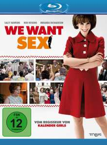We Want Sex (Blu-ray), Blu-ray Disc