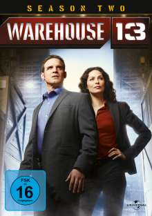 Warehouse 13 Season 2, 3 DVDs