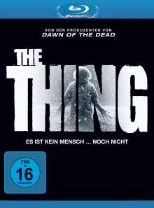 The Thing (2011) (Blu-ray), Blu-ray Disc