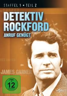 Detektiv Rockford - Anruf genügt Staffel 1 Box 2, 4 DVDs