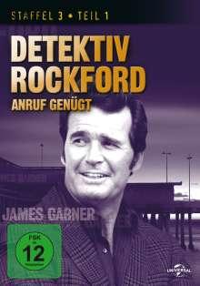 Detektiv Rockford - Anruf genügt Staffel 3 Box 1, 3 DVDs