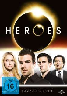 Heroes (Komplette Serie), 23 DVDs