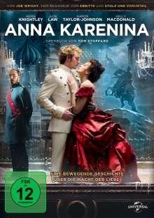 Anna Karenina (2012), DVD