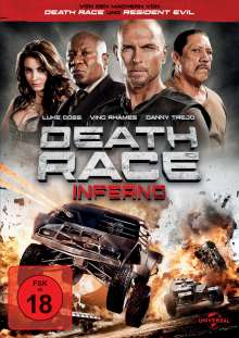 Death Race - Inferno, DVD