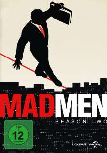 Mad Men Season 2, 4 DVDs