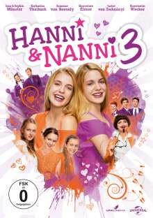 Hanni und Nanni 3, DVD