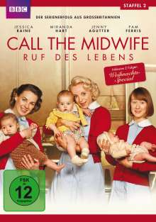 Call The Midwife Season 2, 3 DVDs