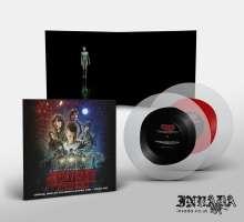 Kyle Dixon & Michael Stein: Filmmusik: Stranger Things Season 1, Vol. 2 (O.S.T.) (Frost With Red/ Black Blob Vinyl), 2 LPs