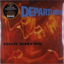 Don Shinn: Departures (Limited Numbered Edition), 1 LP und 1 Single 7""
