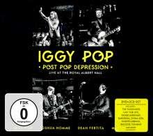 Iggy Pop: Post Pop Depression: Live At The Royal Albert Hall, 1 DVD und 2 CDs
