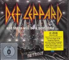 Def Leppard: And There Will Be A Next Time ... Live From Detroit, 2 CDs und 1 DVD