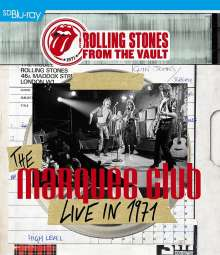 The Rolling Stones: From The Vault: The Marquee Club Live In 1971, Blu-ray Disc