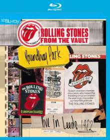 The Rolling Stones: From The Vault: Live In Leeds 1982, Blu-ray Disc