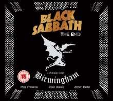 Black Sabbath: The End: Live In Birmingham, 1 Blu-ray Disc und 1 CD