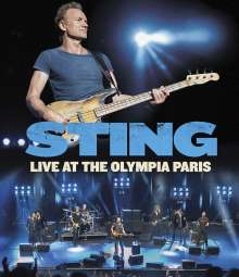 Sting: Live At The Olympia Paris, Blu-ray Disc