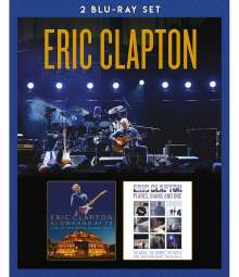 Eric Clapton: Slowhand At 70: Live At The Royal Albert Hall / Planes, Trains And Eric, 2 Blu-ray Discs