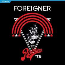 Foreigner: Live At The Rainbow '78, 1 Blu-ray Disc und 1 CD
