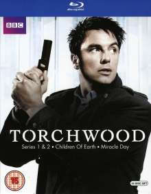 Torchwood Season 1-4 (The Complete Collection) (Blu-ray) (UK Import), 16 Blu-ray Discs