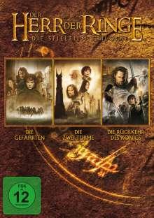 Der Herr der Ringe: Die Trilogie, 3 DVDs