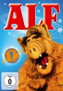 Alf Season 1, 4 DVDs