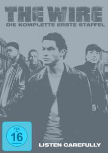 The Wire Staffel 1, 5 DVDs