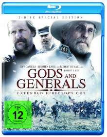 Gods and Generals (Extended Director's Cut) (Blu-ray), 2 Blu-ray Discs