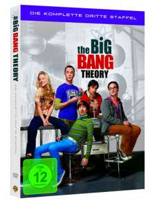 The Big Bang Theory Staffel 3, 4 DVDs