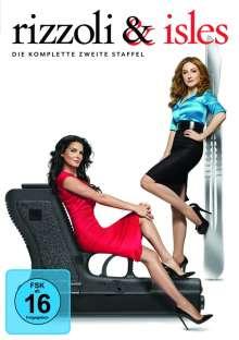 Rizzoli & Isles Season 2, 4 DVDs