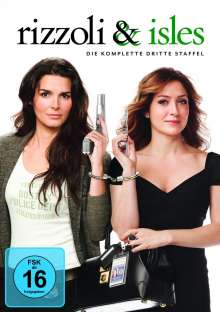 Rizzoli & Isles Season 3, 3 DVDs