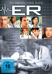 E.R. Emergency Room Staffel 7, 3 DVDs