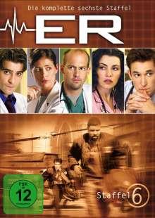 E.R. Emergency Room Staffel 6, 3 DVDs