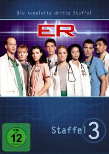 E.R. Emergency Room Staffel 3, 4 DVDs
