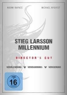 Stieg Larsson Millennium Trilogie (Director's Cut), 3 DVDs