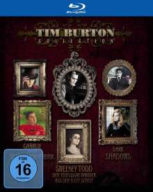Tim Burton Collection (Blu-ray), 3 Blu-ray Discs