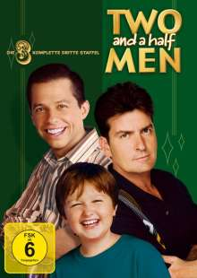 Two And A Half Men Season 3, 4 DVDs