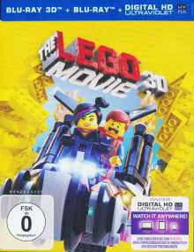 The Lego Movie  (3D & 2D Blu-ray), 2 Blu-ray Discs