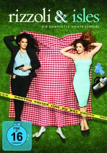 Rizzoli & Isles Season 4, 4 DVDs