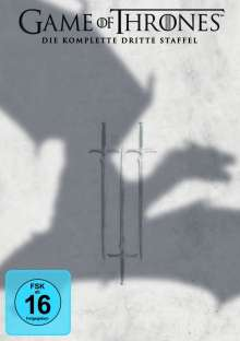 Game of Thrones Season 3, 5 DVDs