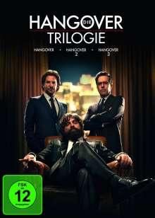 Hangover - Die Trilogie, 3 DVDs