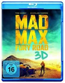 Mad Max - Fury Road (3D Blu-ray), Blu-ray Disc
