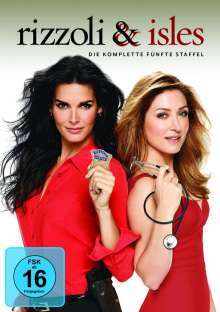 Rizzoli & Isles Season 5, 4 DVDs