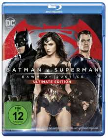 Batman v Superman: Dawn of Justice (Blu-ray), 2 Blu-ray Discs