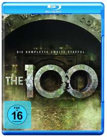 The 100 Staffel 2 (Blu-ray), 4 Blu-ray Discs