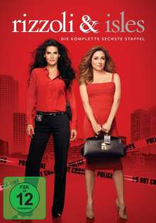 Rizzoli & Isles Season 6, 4 DVDs