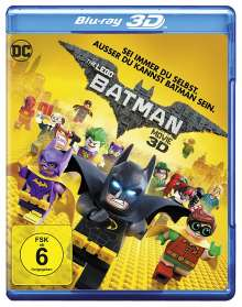 The Lego Batman Movie (3D Blu-ray), Blu-ray Disc