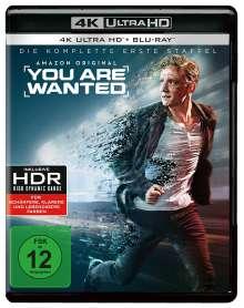 You are wanted Staffel 1 (Ultra HD Blu-ray & Blu-ray), 4 Ultra HD Blu-rays