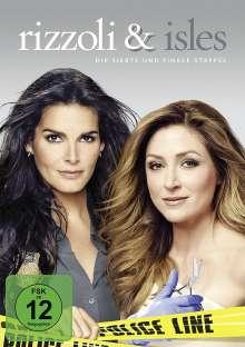 Rizzoli & Isles Season 7 (finale Staffel), 3 DVDs