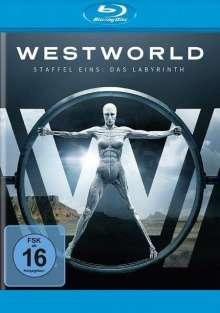Westworld Staffel 1: Das Labyrinth (Blu-ray), 3 Blu-ray Discs