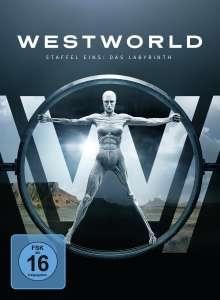 Westworld Staffel 1: Das Labyrinth, 3 DVDs