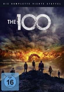 The 100 Staffel 4, 3 DVDs